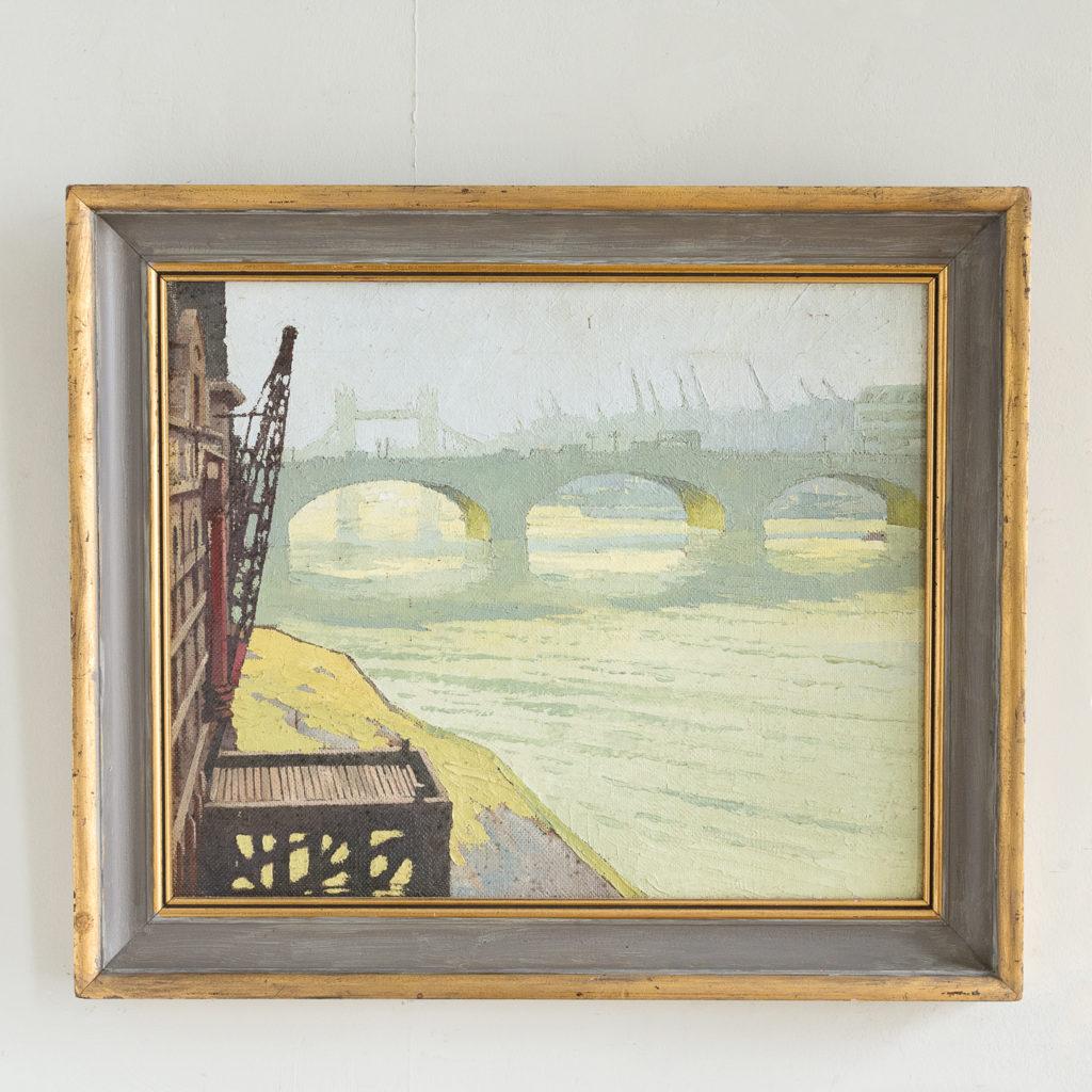 London Bridge by David William Burley 1901-1990,
