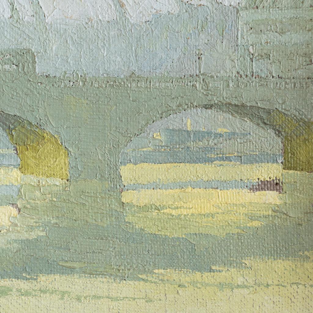 London Bridge by David William Burley 1901-1990,-139314