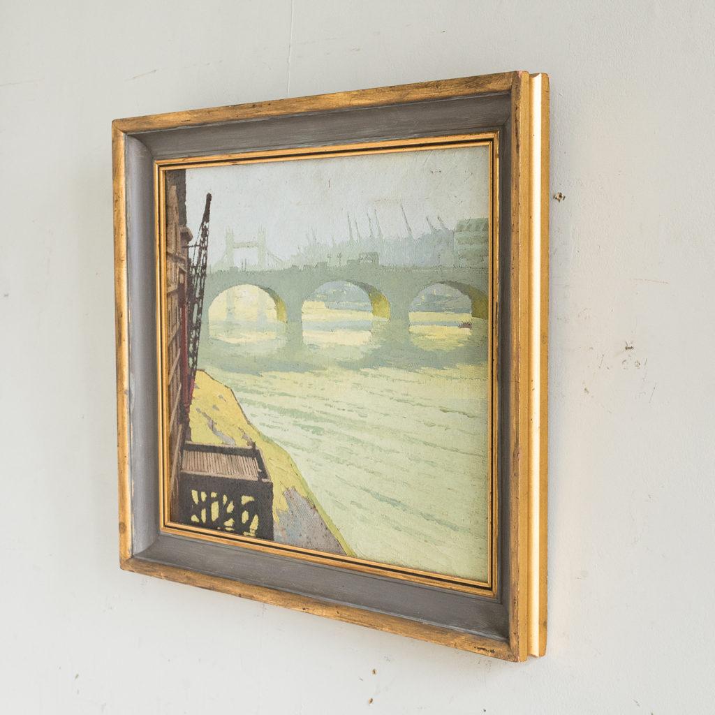 London Bridge by David William Burley 1901-1990,-139318