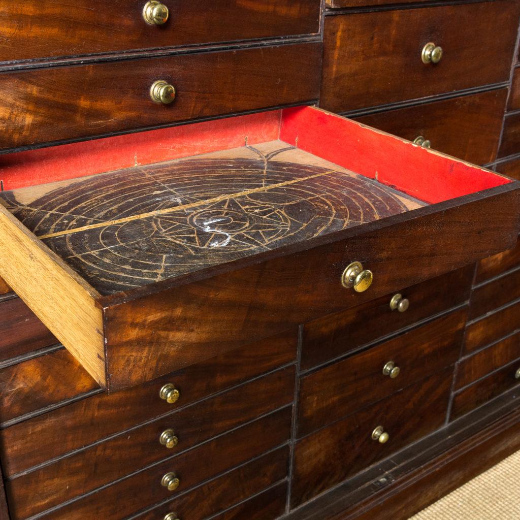 George III mahogany bookcase, -140105