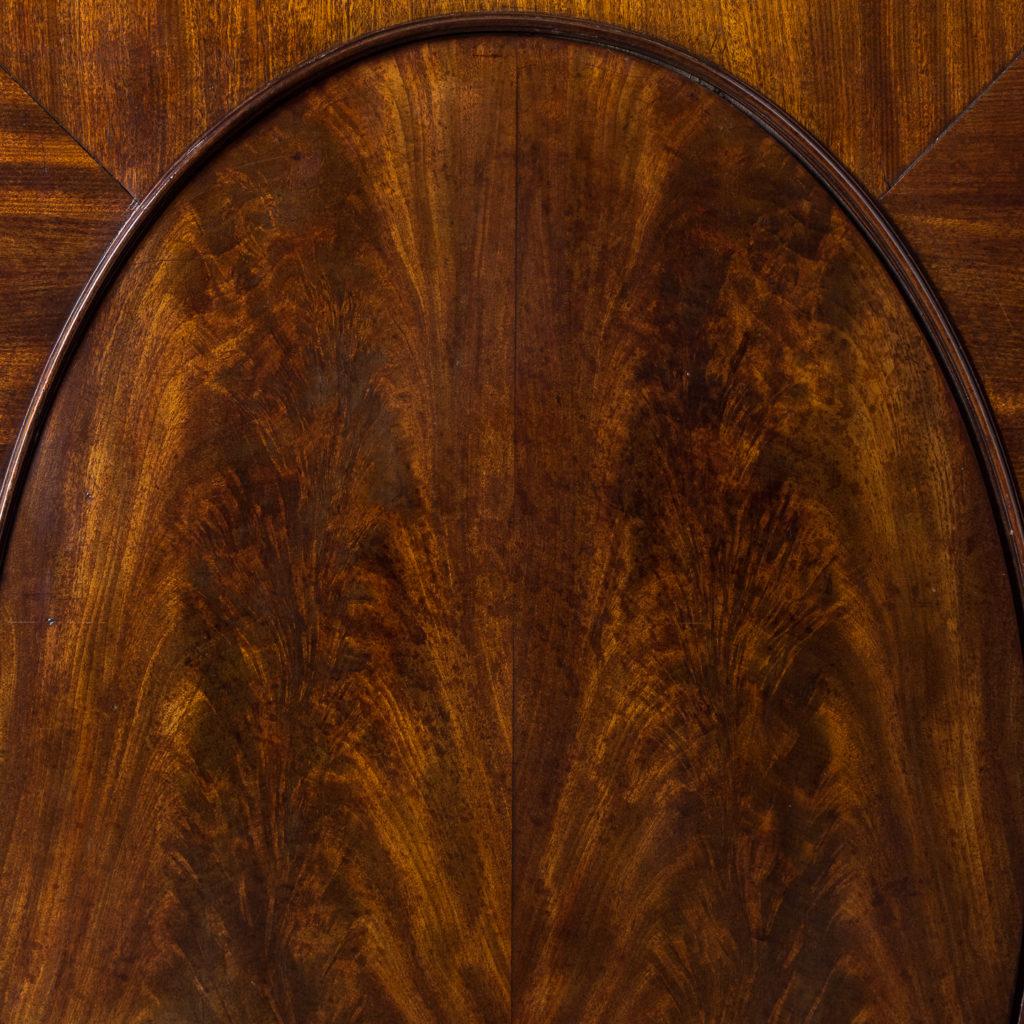 George III mahogany bookcase, -140108