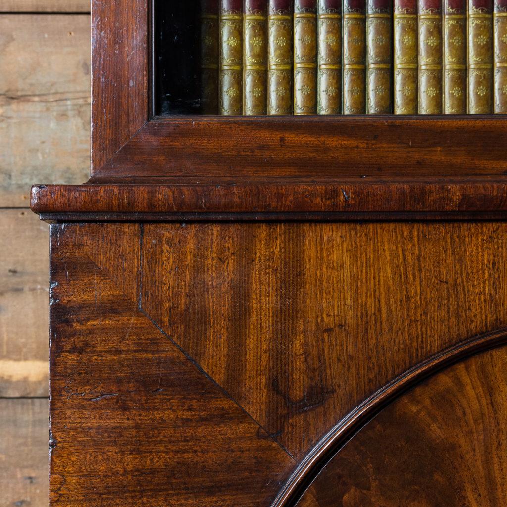 George III mahogany bookcase, -140111