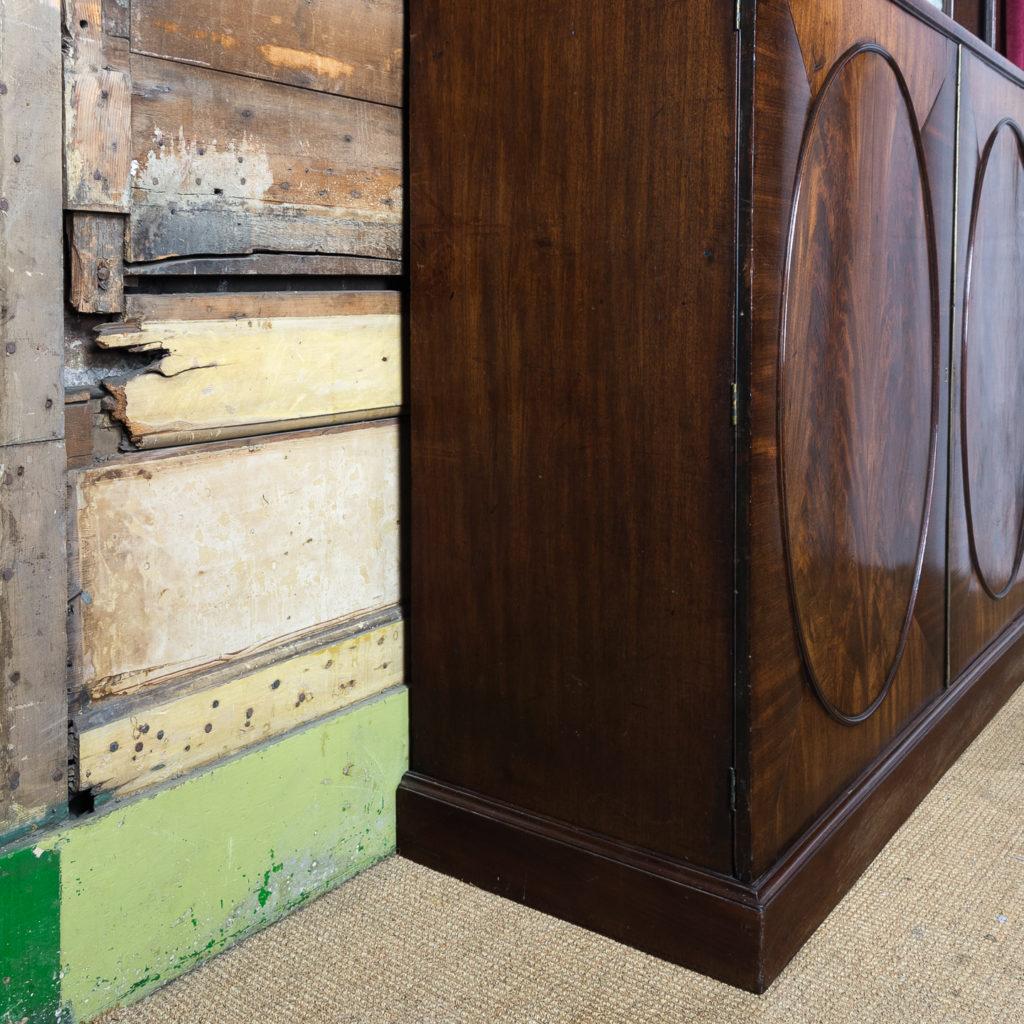 George III mahogany bookcase, -140112