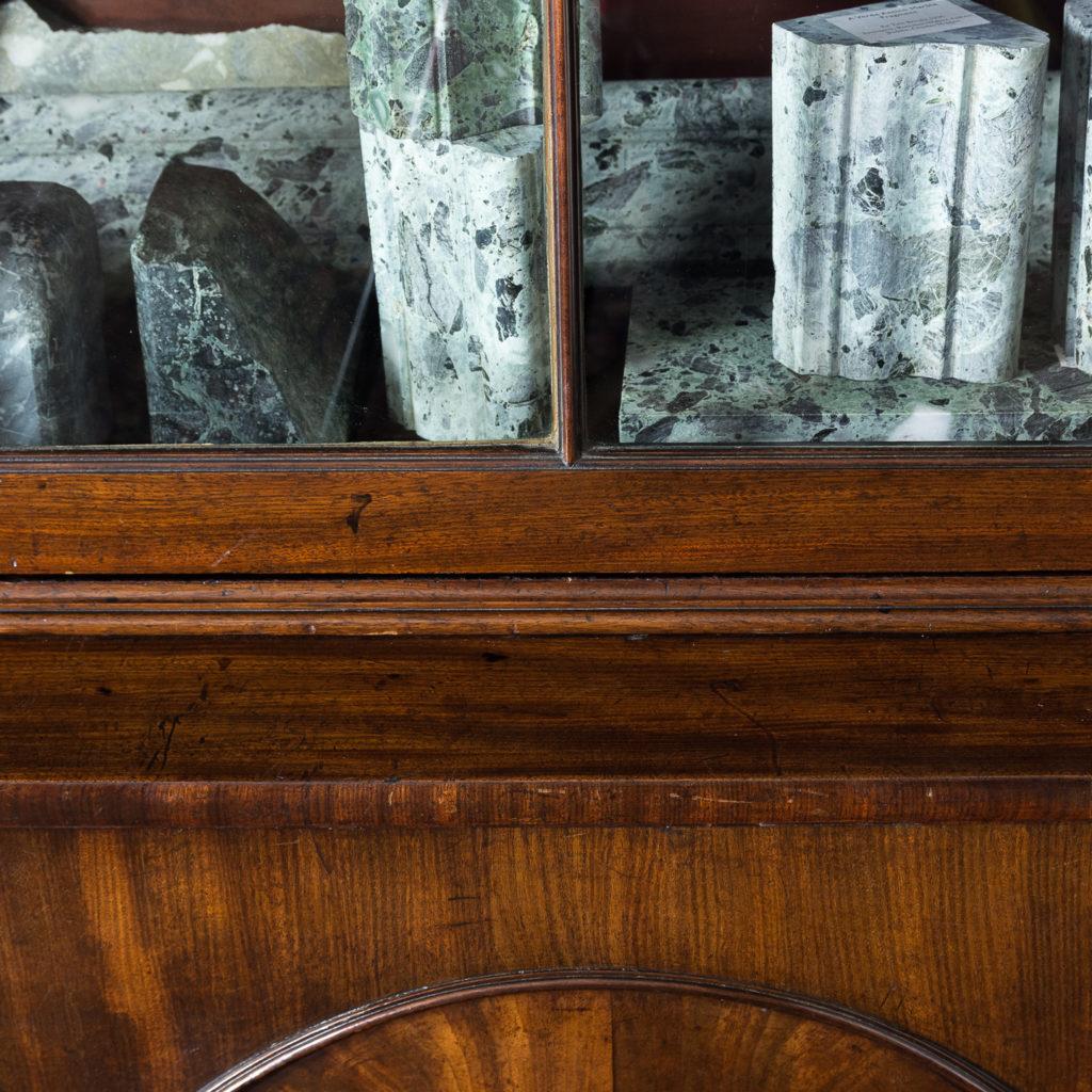 George III mahogany bookcase, -140114