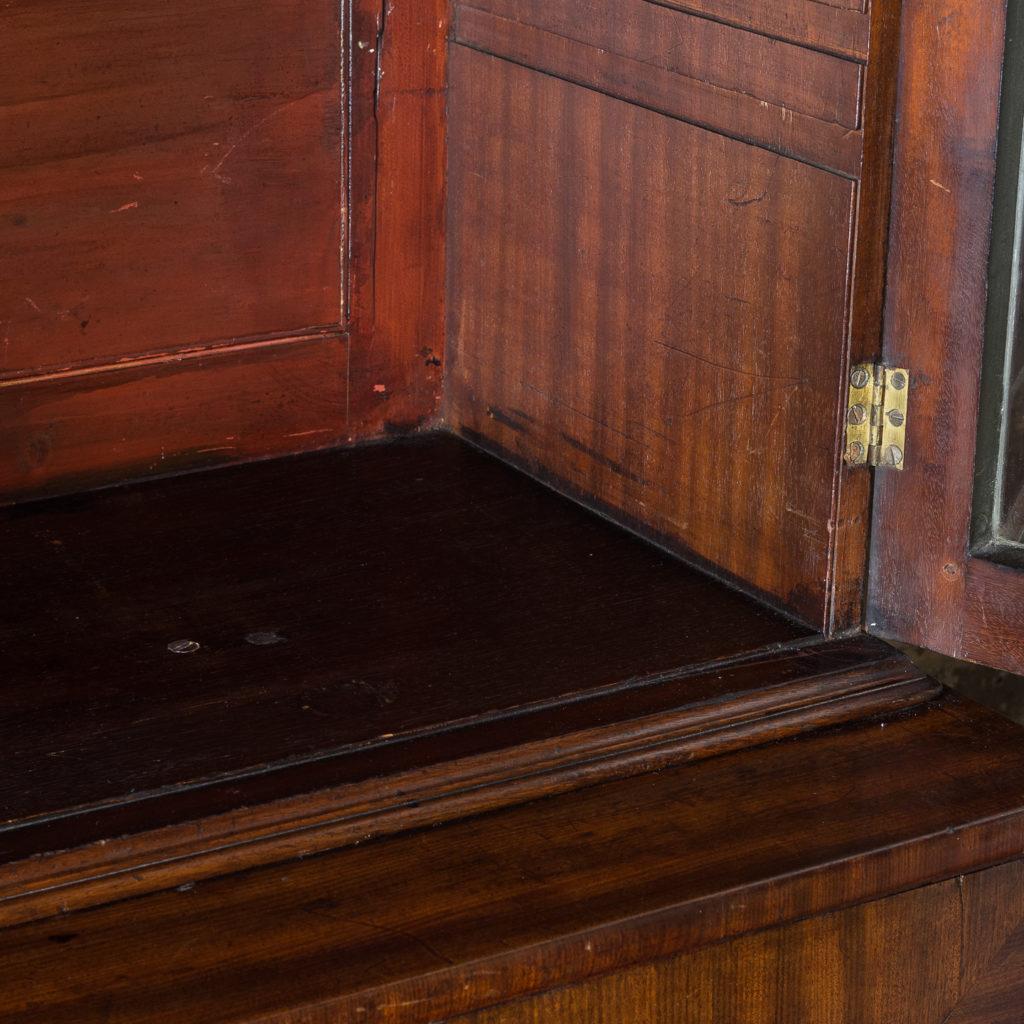 George III mahogany bookcase, -140118