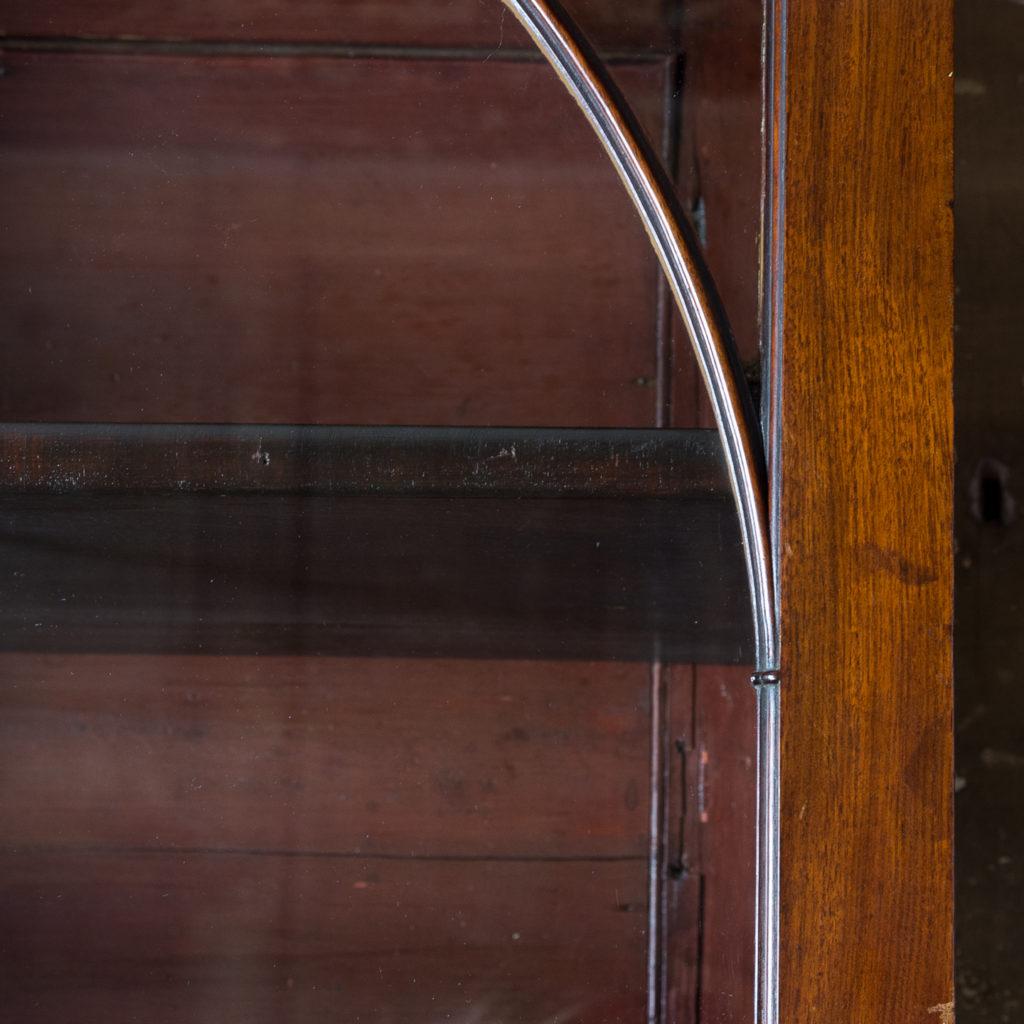 George III mahogany bookcase, -140119