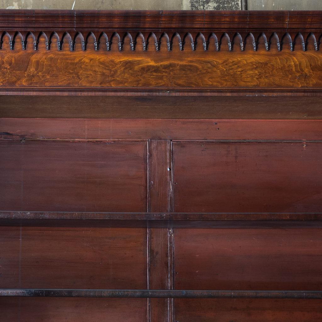 George III mahogany bookcase, -140122
