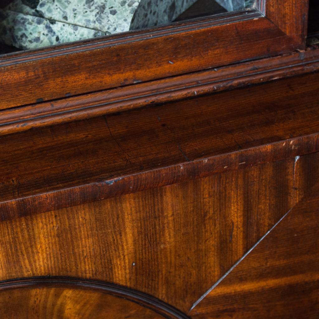 George III mahogany bookcase, -140124