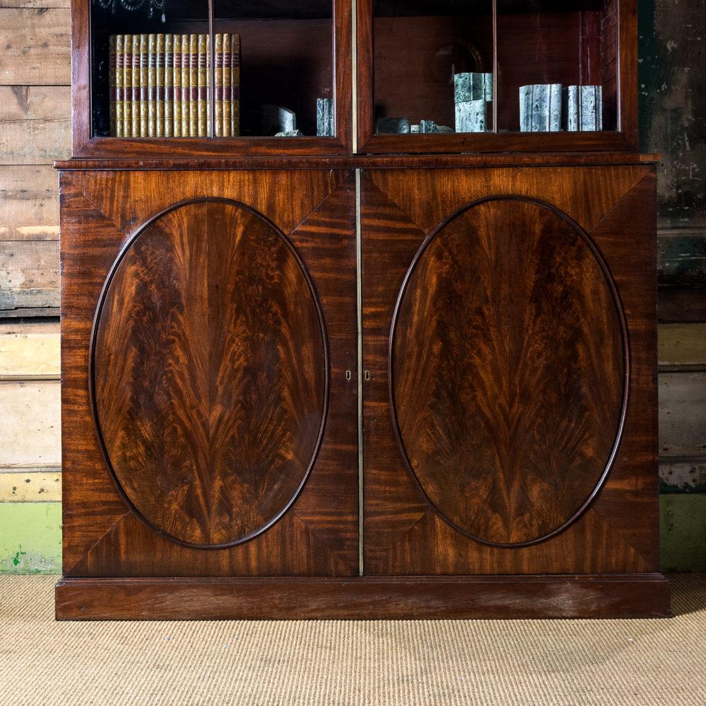 George III mahogany bookcase, -140099