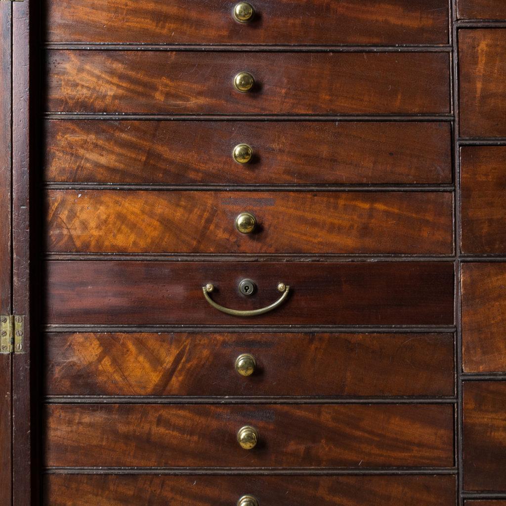 George III mahogany bookcase, -140102