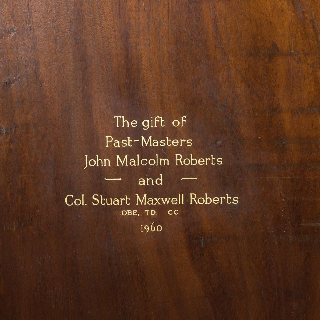 George III mahogany bookcase, -140104