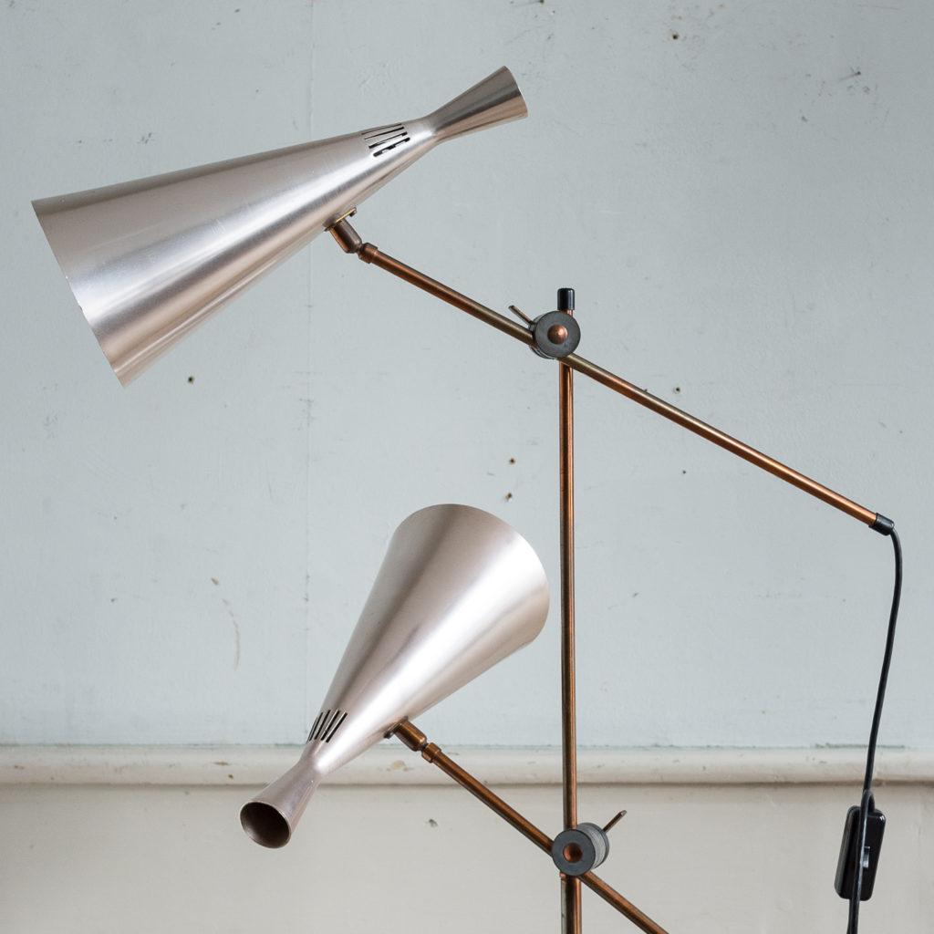 Mid-century cone floor lamp, -140397