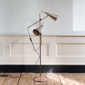 Mid-century cone floor lamp,