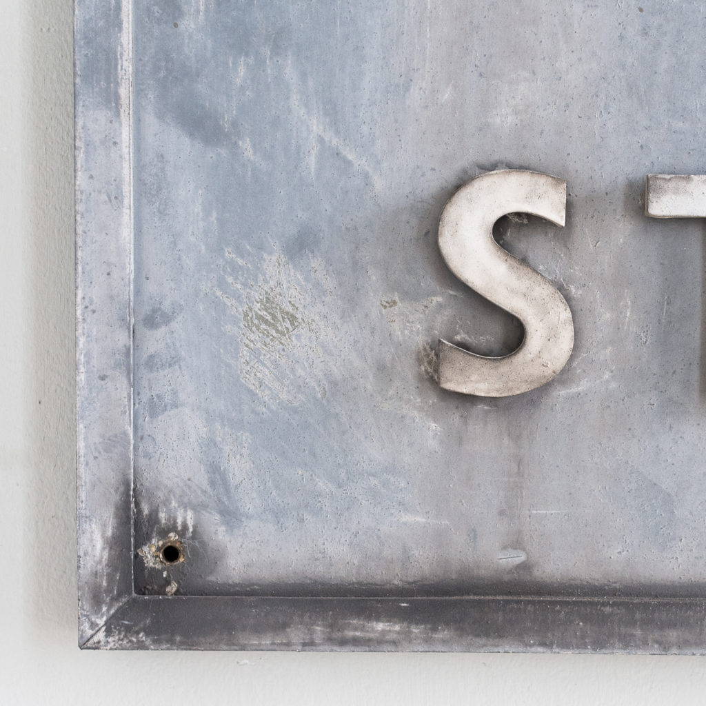 East End Gasworks sign,-140414