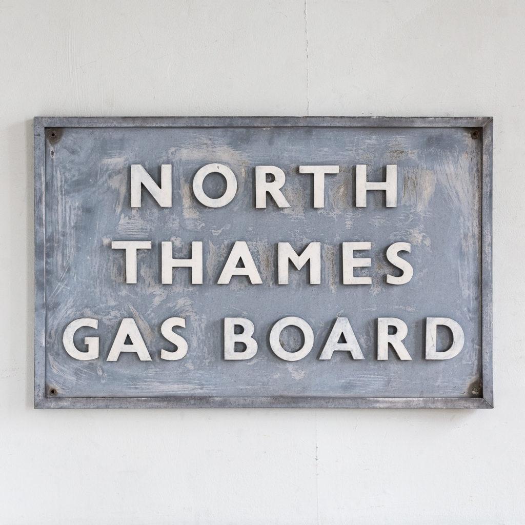 East End Gasworks sign,