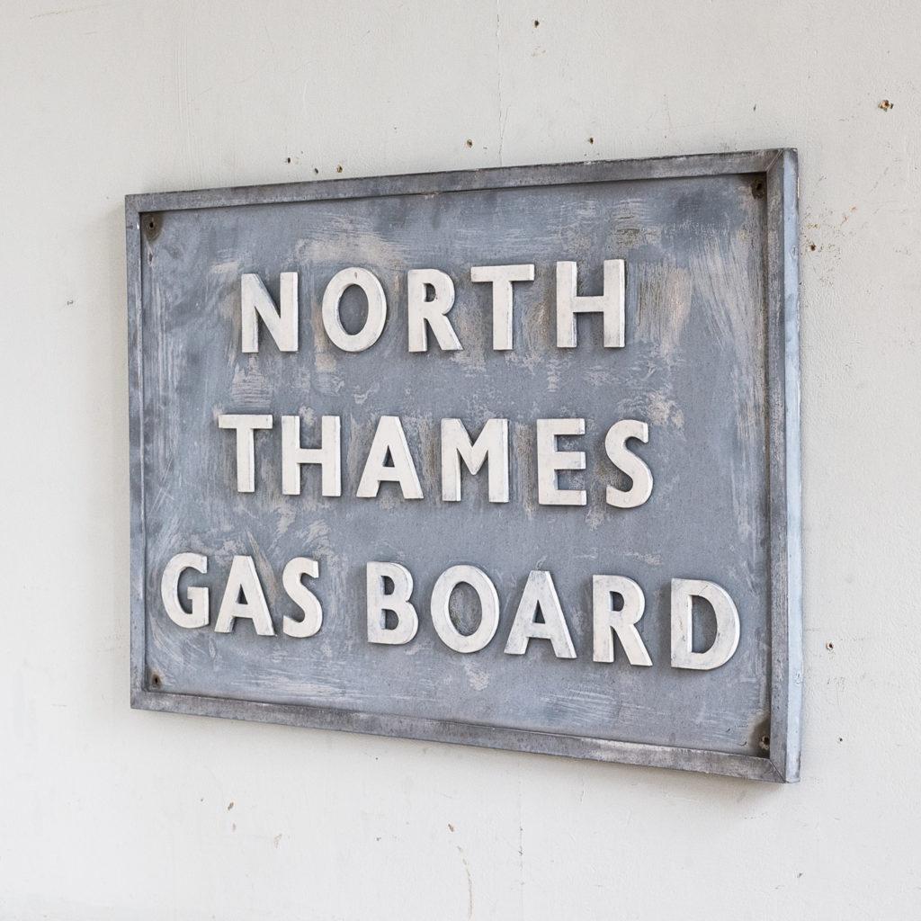 East End Gasworks sign,-140399