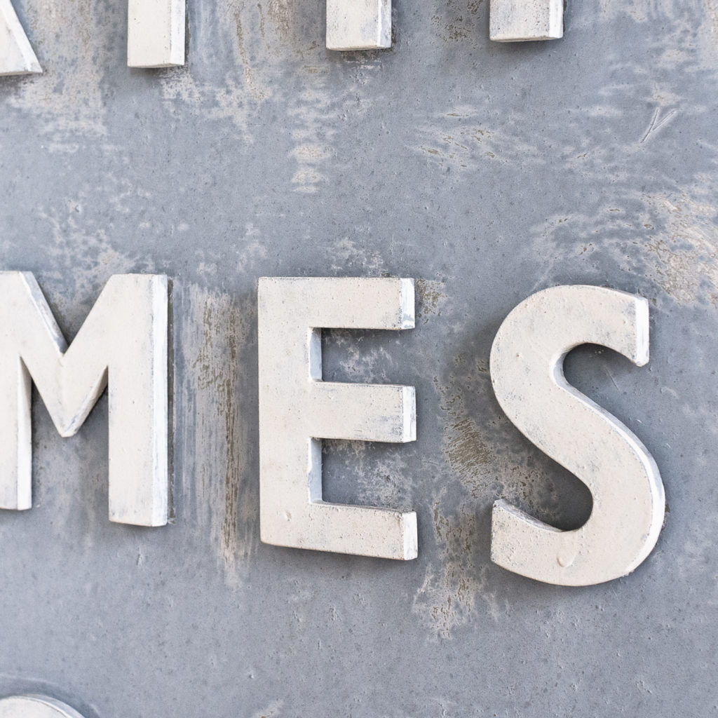 East End Gasworks sign,-140401