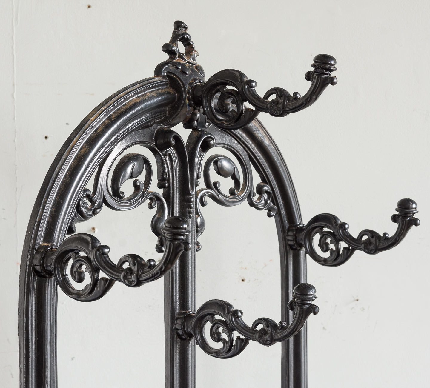Victorian style cast iron hall stand,-139820