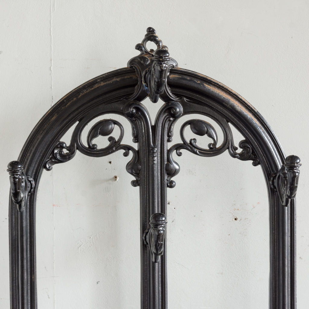 Victorian style cast iron hall stand,-139822