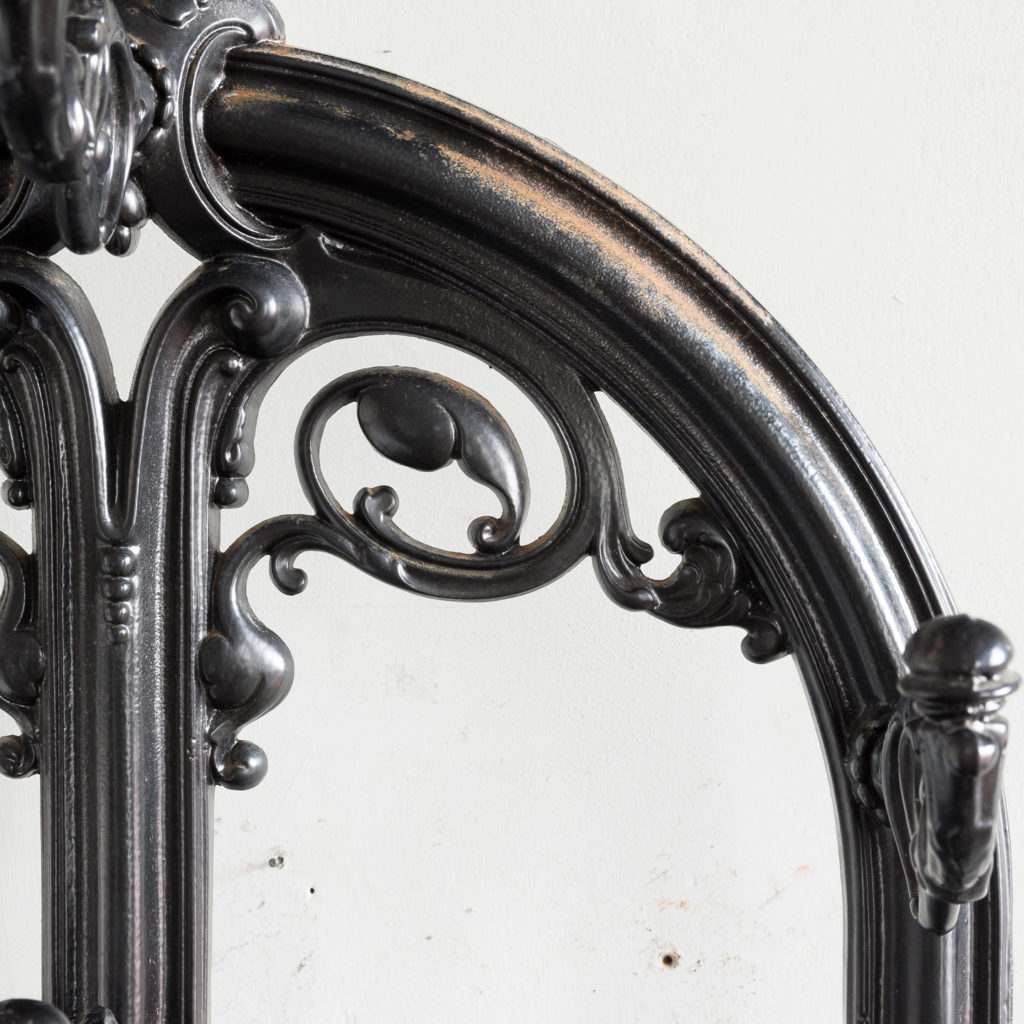 Victorian style cast iron hall stand,-139823