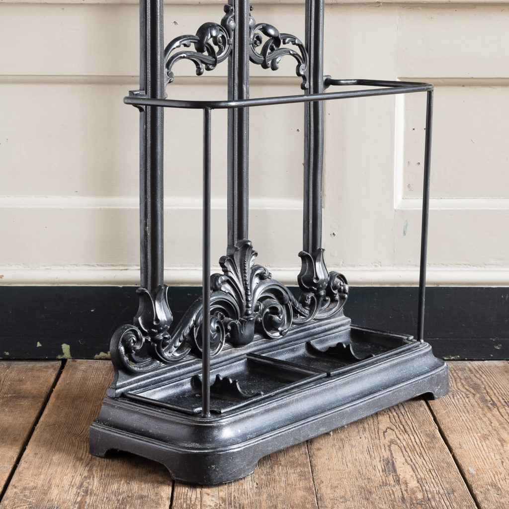 Victorian style cast iron hall stand,-139821