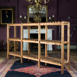 English pinewood pantry rack,