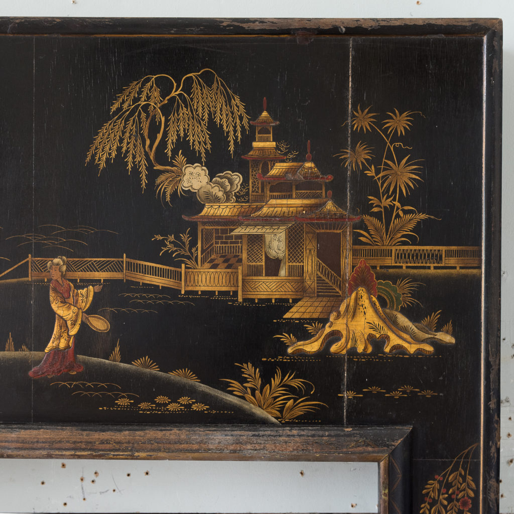 1920s Chinoiserie Revival fire surround, -140058