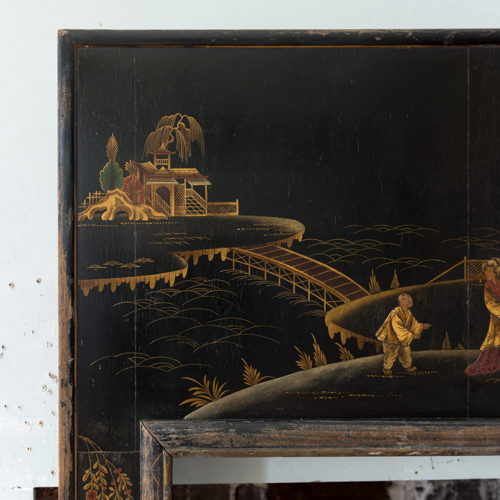 1920s Chinoiserie Revival fire surround, -140062