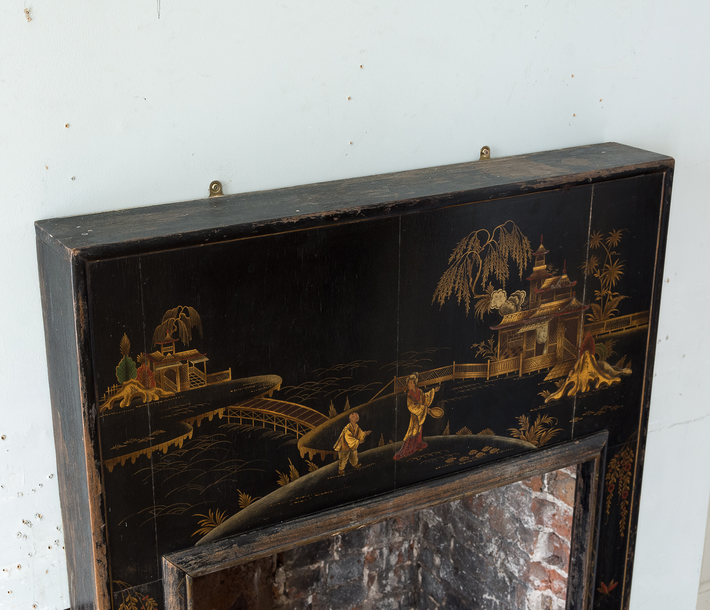 1920s Chinoiserie Revival fire surround, -140065