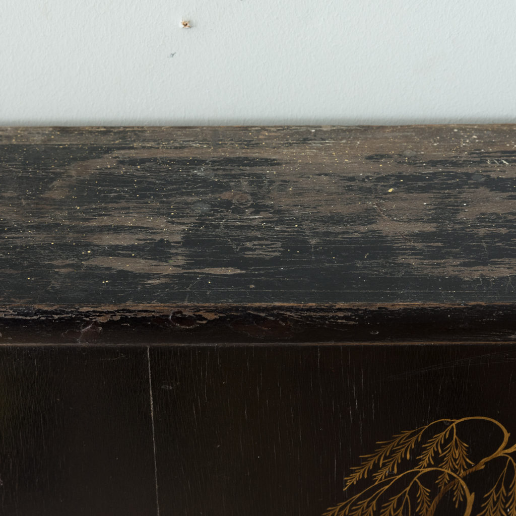 1920s Chinoiserie Revival fire surround, -140066