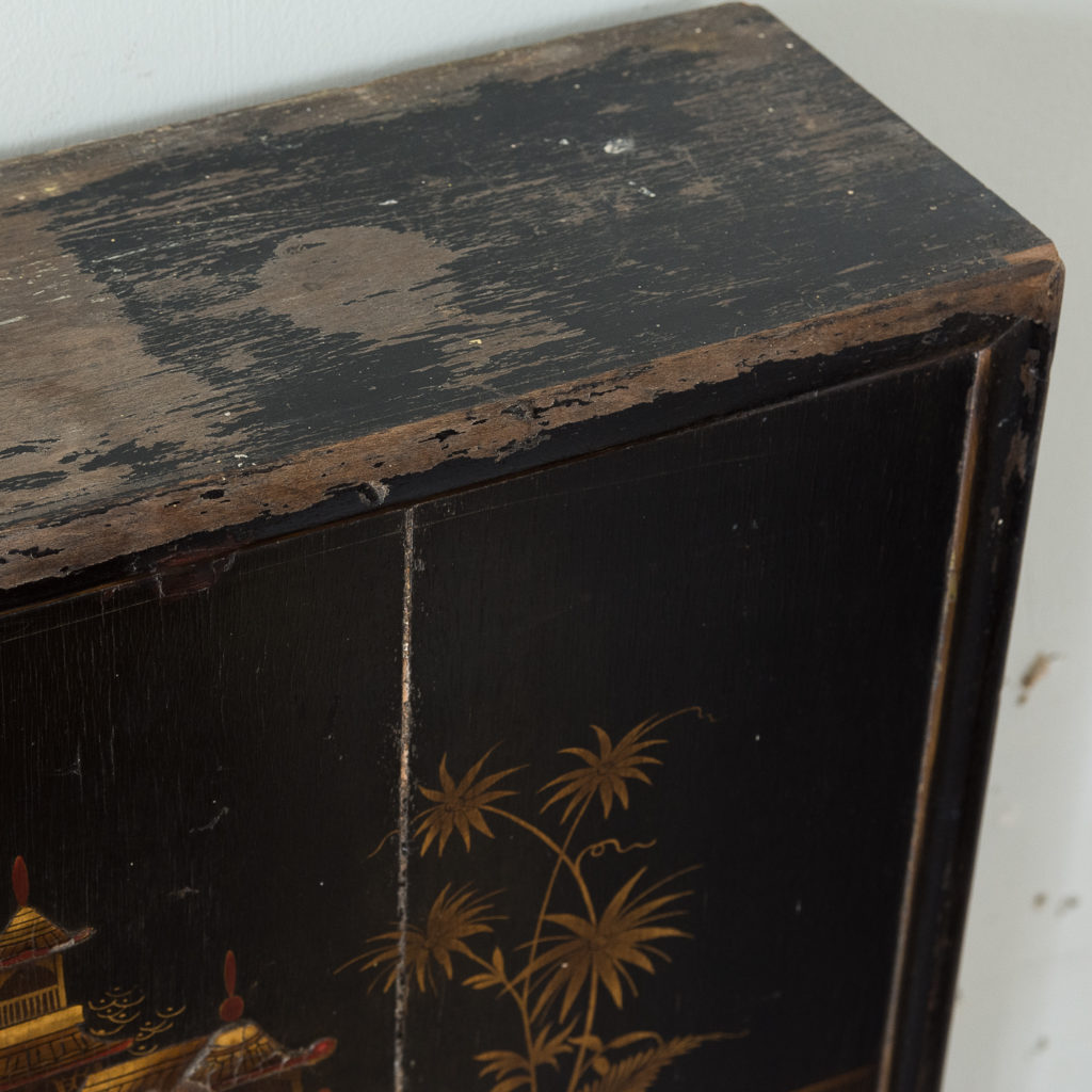 1920s Chinoiserie Revival fire surround, -140067