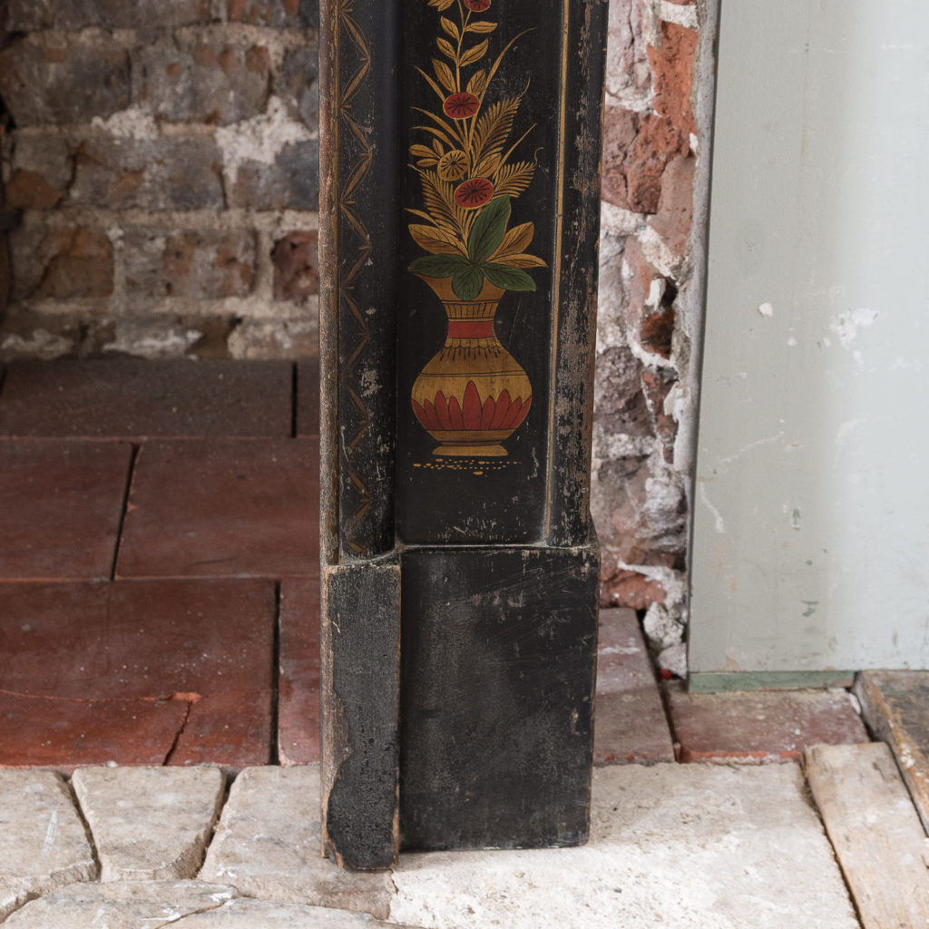 1920s Chinoiserie Revival fire surround, -140053