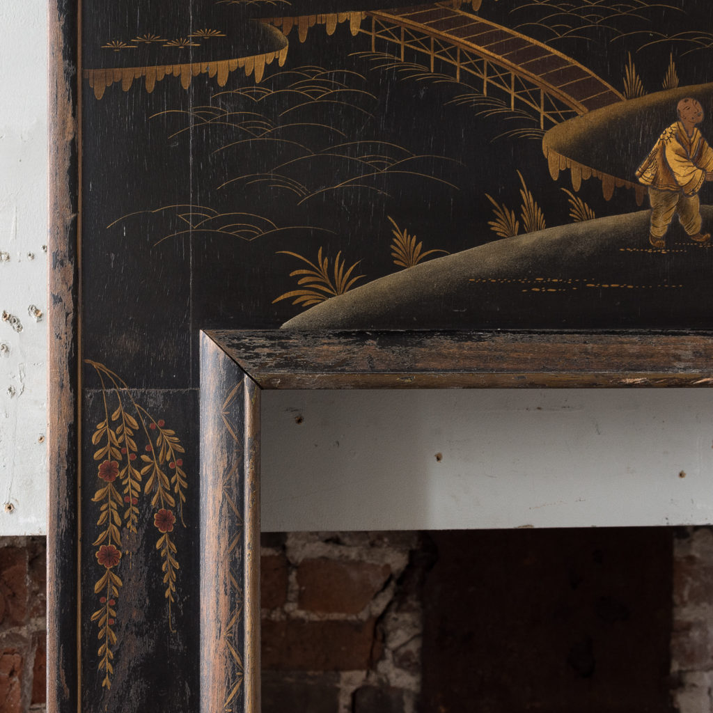 1920s Chinoiserie Revival fire surround, -140056