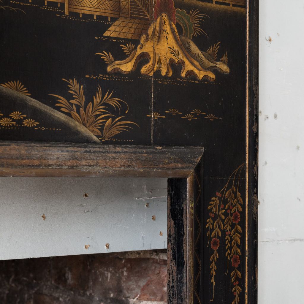 1920s Chinoiserie Revival fire surround, -140057