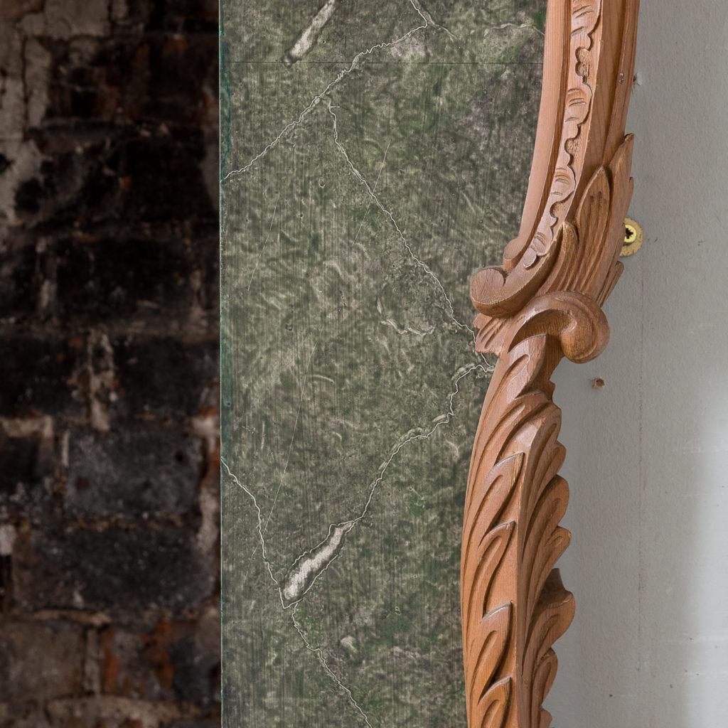 Mid-eighteenth century style Rococo fireplace,-140138