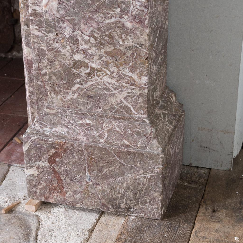 William IV Ashburton marble fireplace,-140015