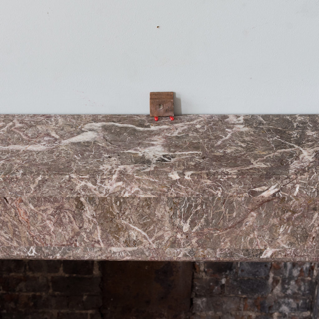 William IV Ashburton marble fireplace,-140016