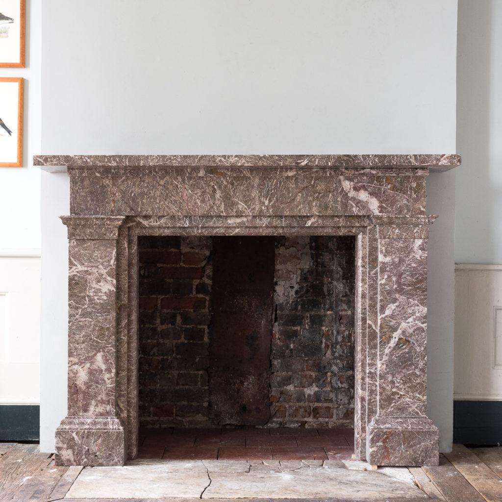 William IV Ashburton marble fireplace,