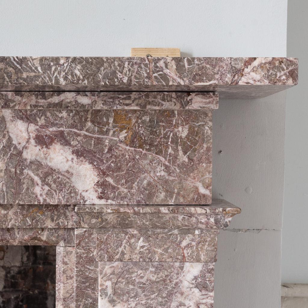 William IV Ashburton marble fireplace,-140009