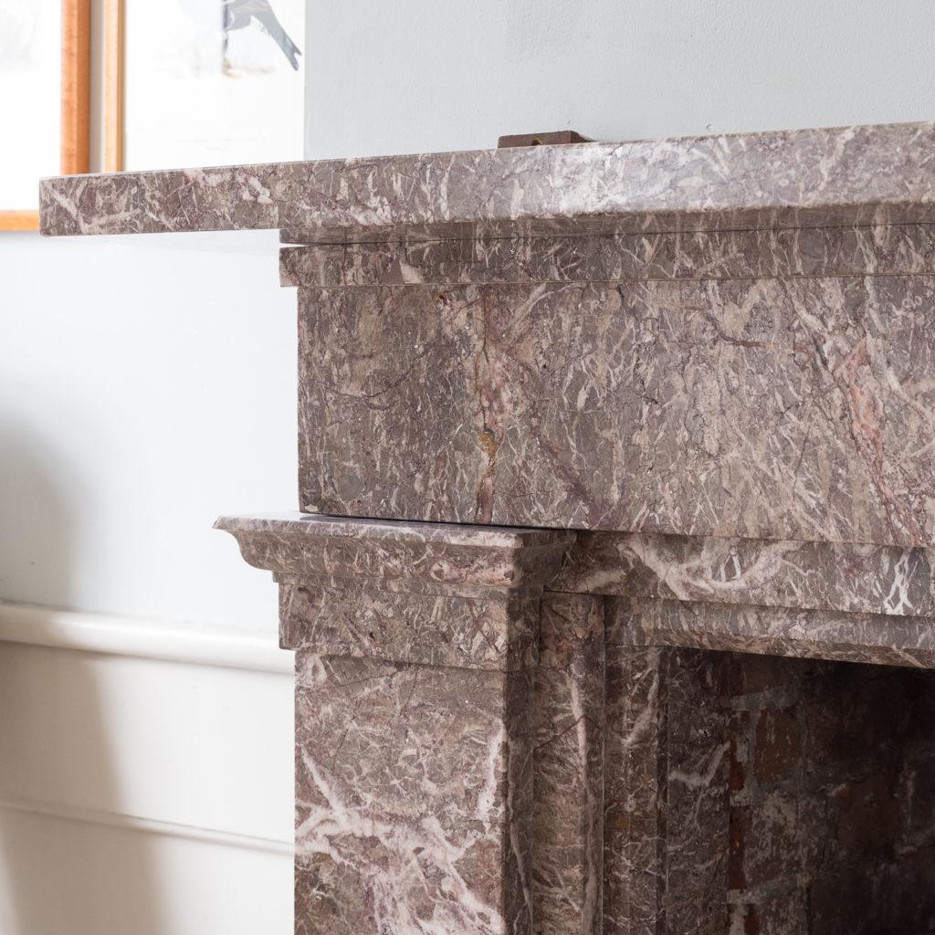 William IV Ashburton marble fireplace,-140008
