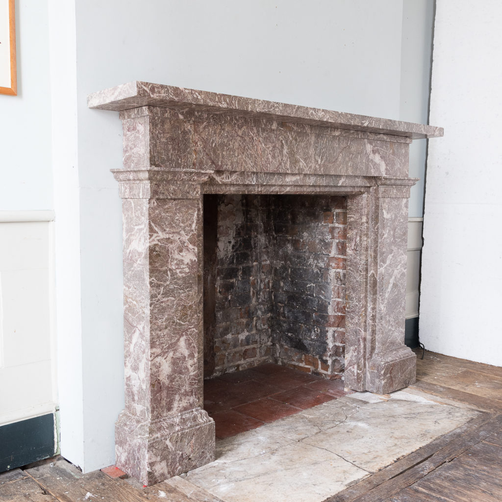 William IV Ashburton marble fireplace,-140010