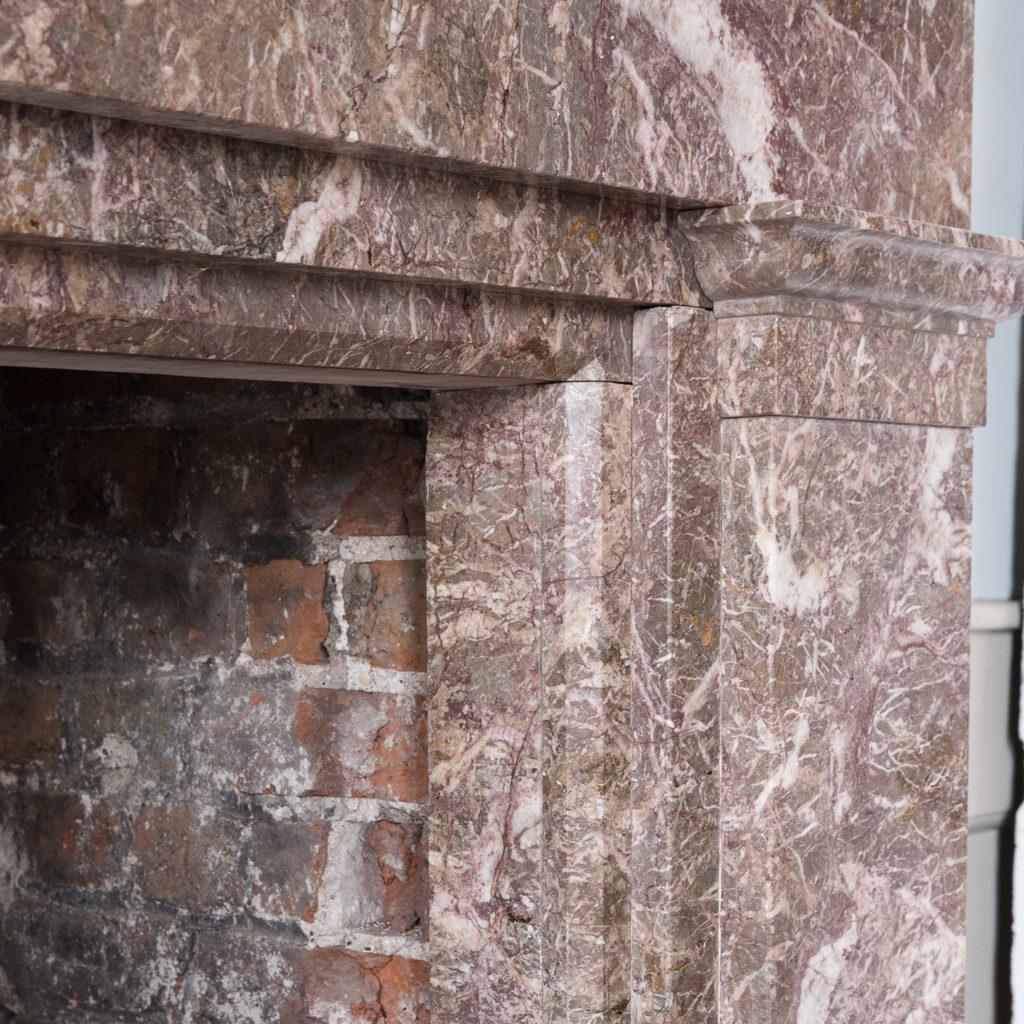 William IV Ashburton marble fireplace,-140011