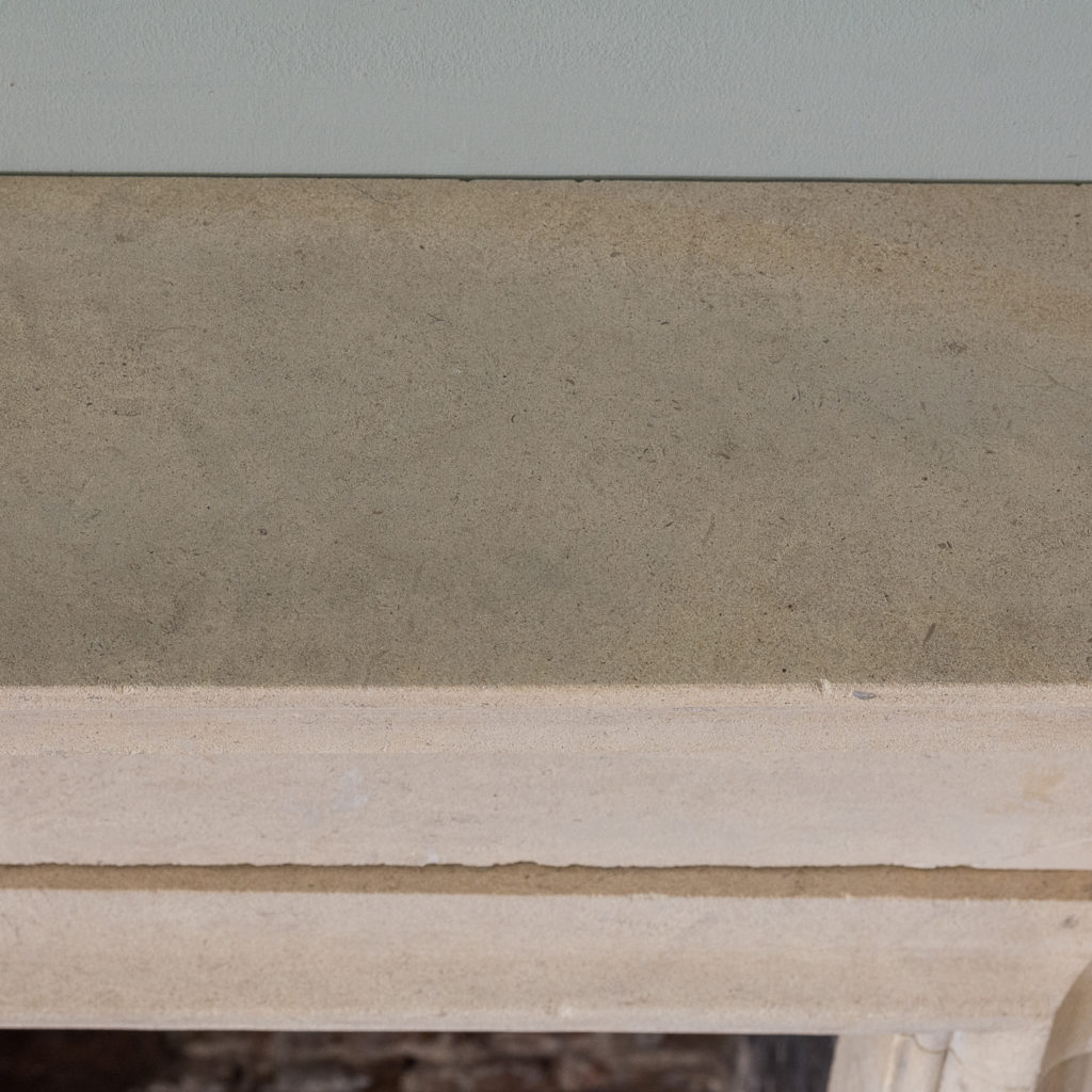 George II style Bathstone fireplace, -140046