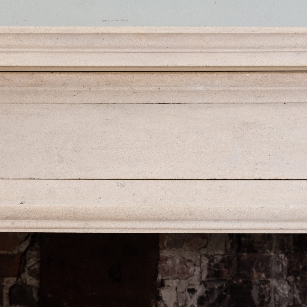 George II style Bathstone fireplace, -140034
