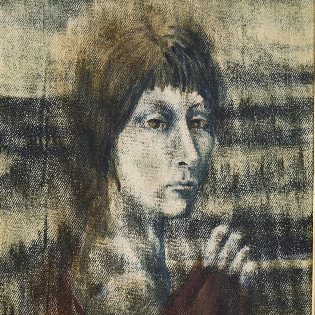 Self portrait as a Renaissance Lady, by Sheila Steafel