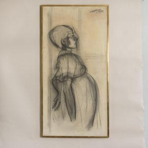 Pregnant Lady, by Sheila Steafel