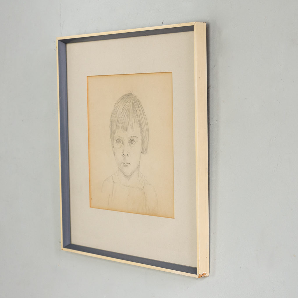 Portrait of a young girl by Sheila Steafel-140318