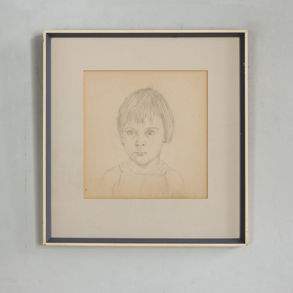 Portrait of a young girl by Sheila Steafel