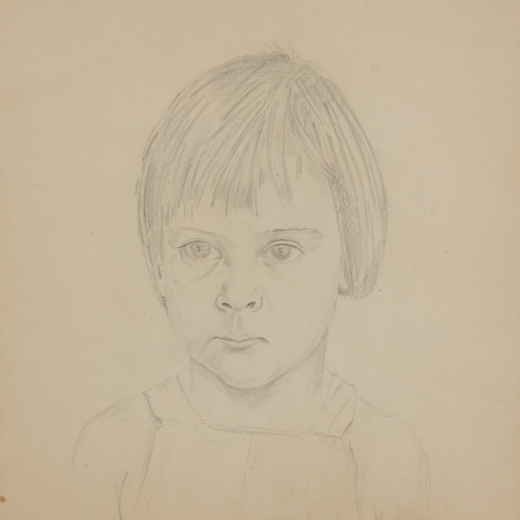 Portrait of a young girl by Sheila Steafel-140319