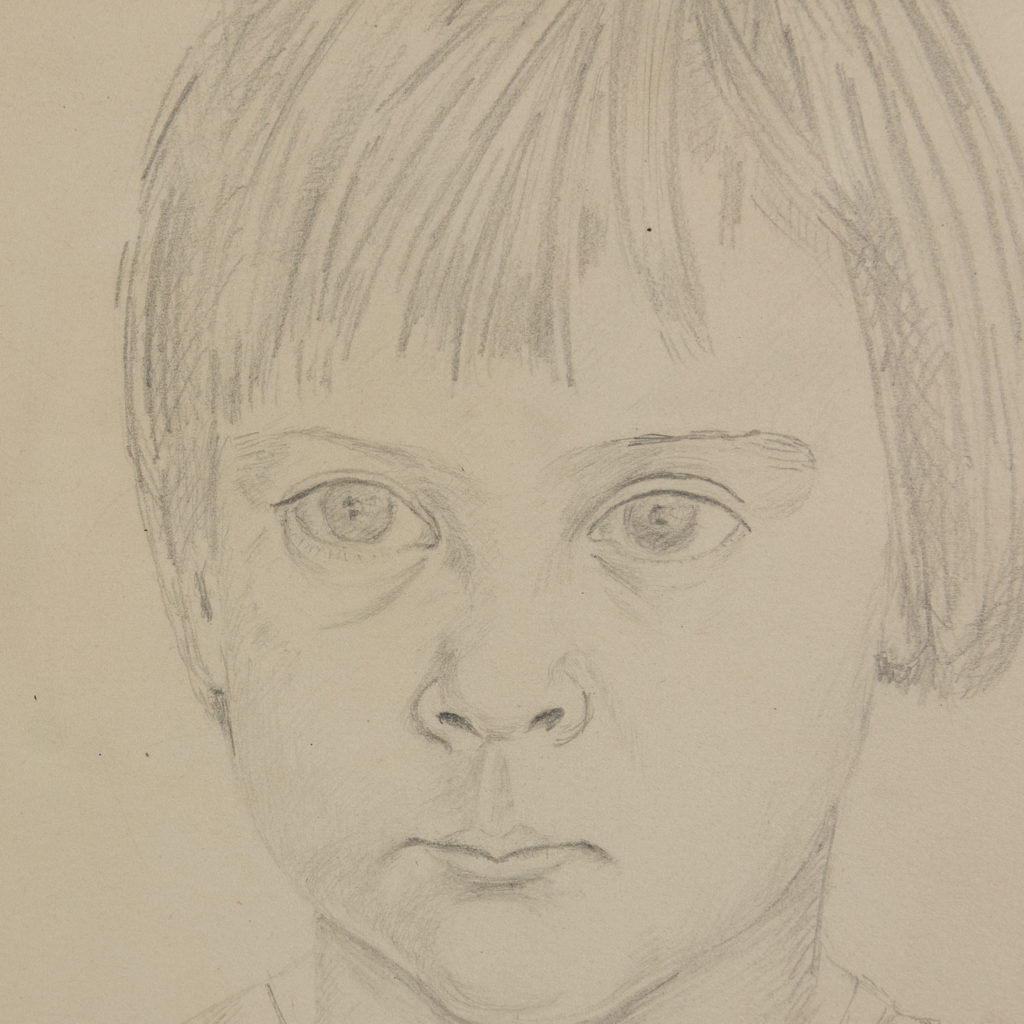 Portrait of a young girl by Sheila Steafel-140321